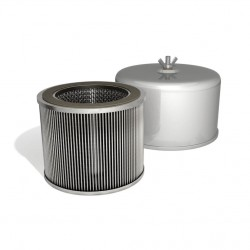 Filter cu amortizarea zgomotului integrată FT.332.230P pentru suflante